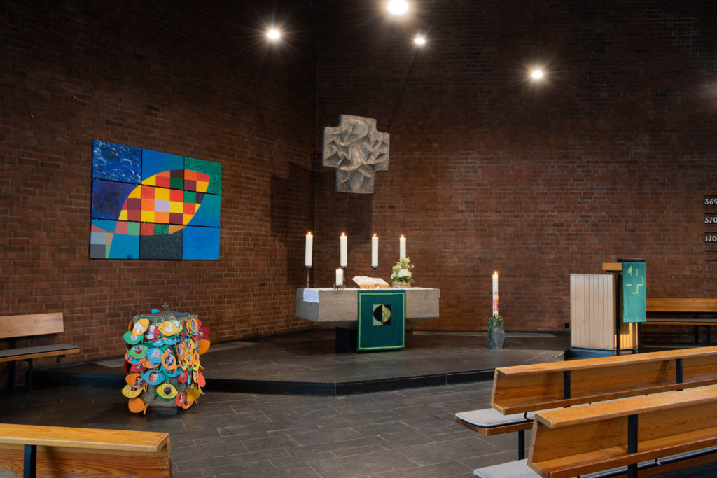 Pauluskirche Altar