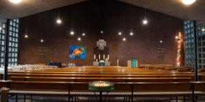 Pauluskirche Altarblick