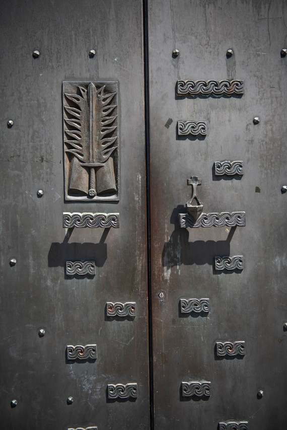 Pauluskirche Tür