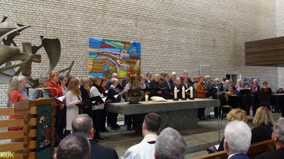 Einführungsgottesdienst Pfarrerin Sybille Noack-Mündemann, Versöhnungskirche, 10.11.2019 - Foto: Klaus P. Greschok