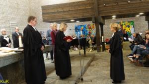 Herzlich willkommen! Einführungsgottesdienst für Pfarrerin Sybille Noack-Mündemann