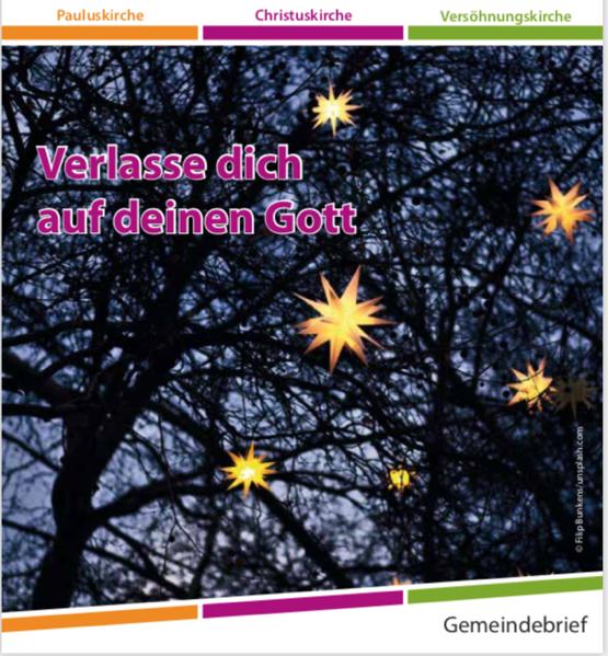 Umschlagbild: Filip Bunkens/unsplash.com - Rechte über den Gemeindebrief