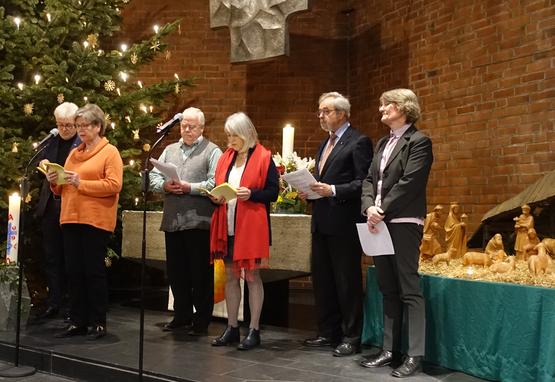 Ökumenische Vesper und Neujahrsempfang in der Pauluskirche am 19.01.2020, Foto: Klaus P. Greschok