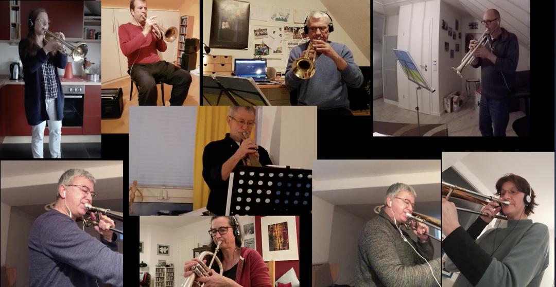 Home-Office-Konzert Heilix Bleche, März 2021