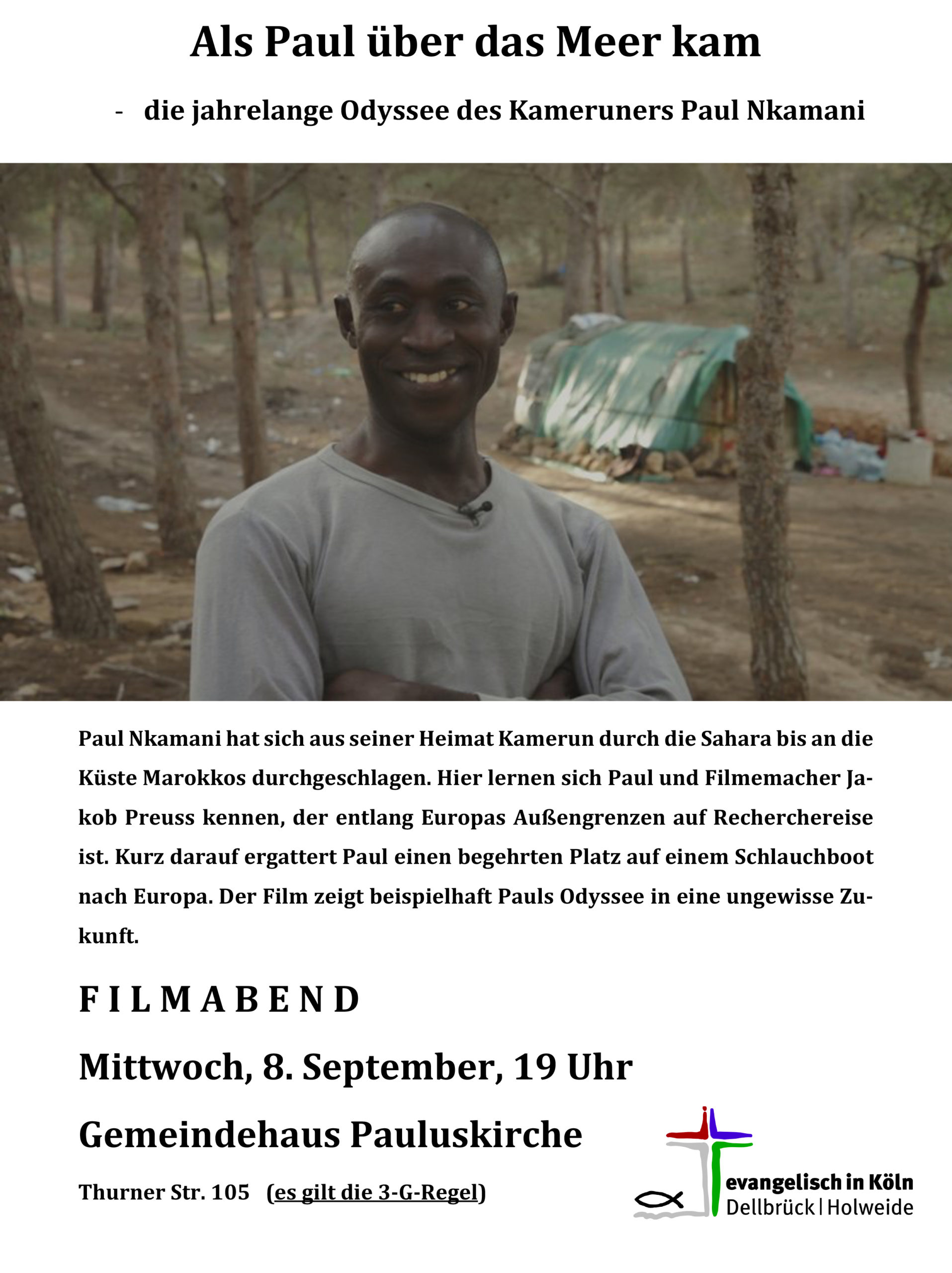 Read more about the article Filmabend – Als Paul über das Meer kam