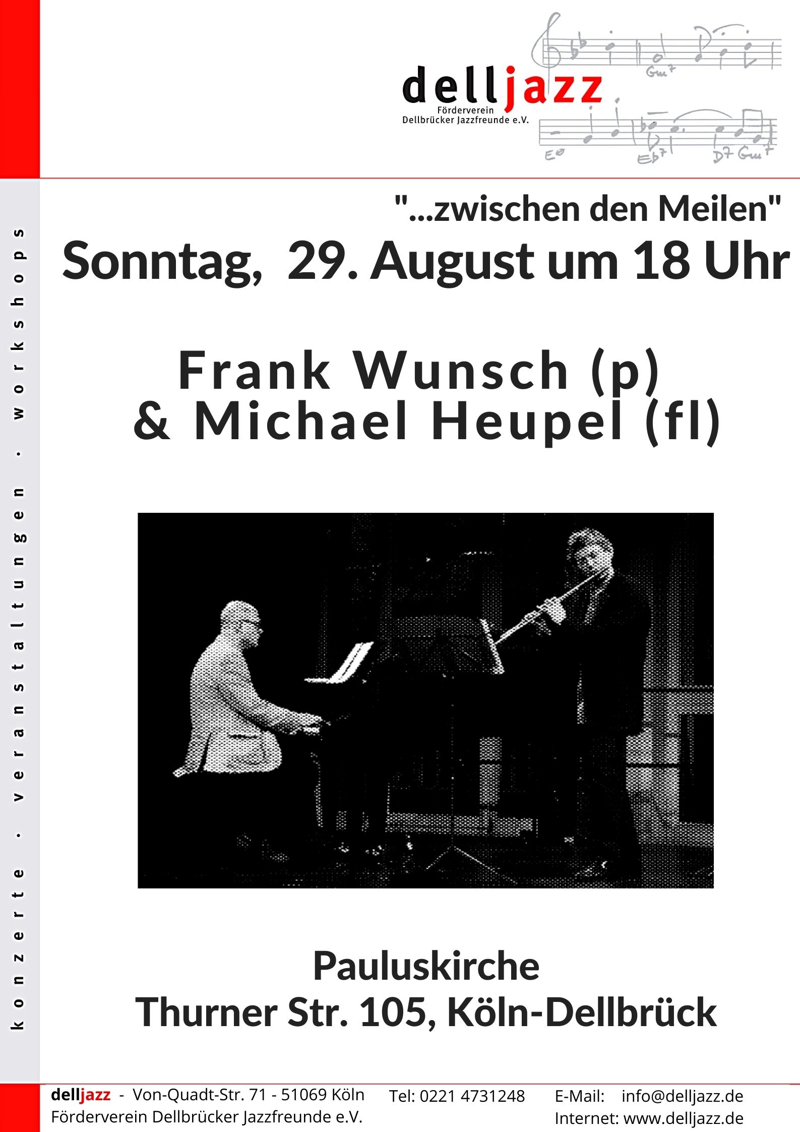 Read more about the article Jazzkonzert – Pauluskirche